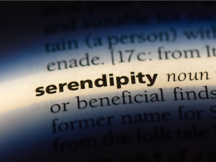The importance of serendipity